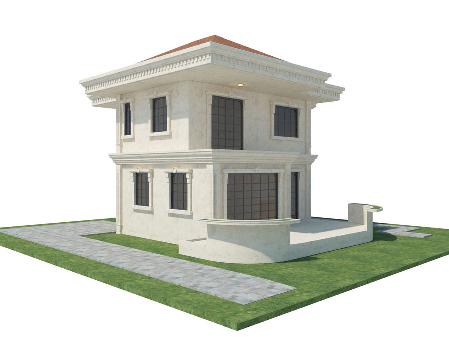 City Buildings royalty-free 3d model - Preview no. 61