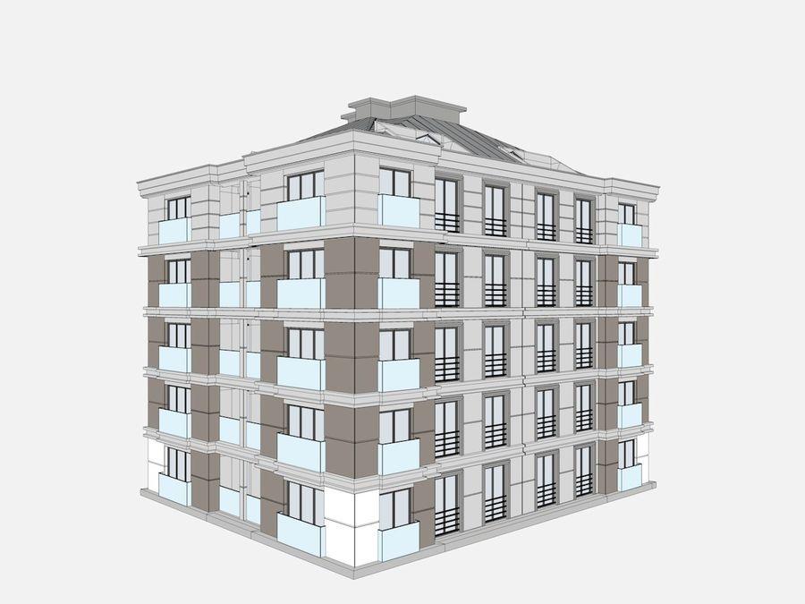 Bâtiments de la ville royalty-free 3d model - Preview no. 26