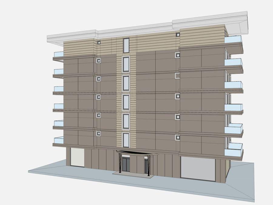 Bâtiments de la ville royalty-free 3d model - Preview no. 47