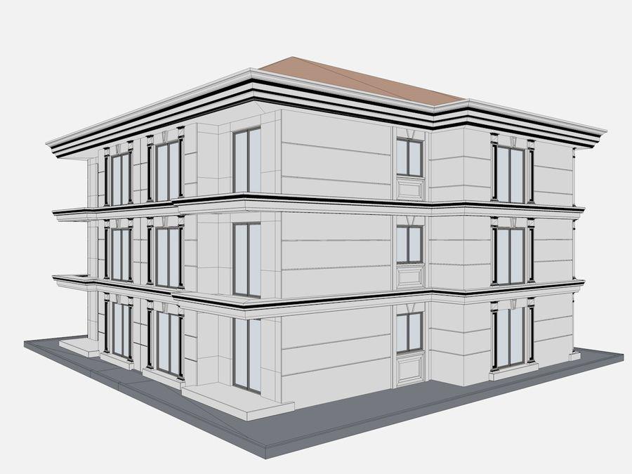 Bâtiments de la ville royalty-free 3d model - Preview no. 59