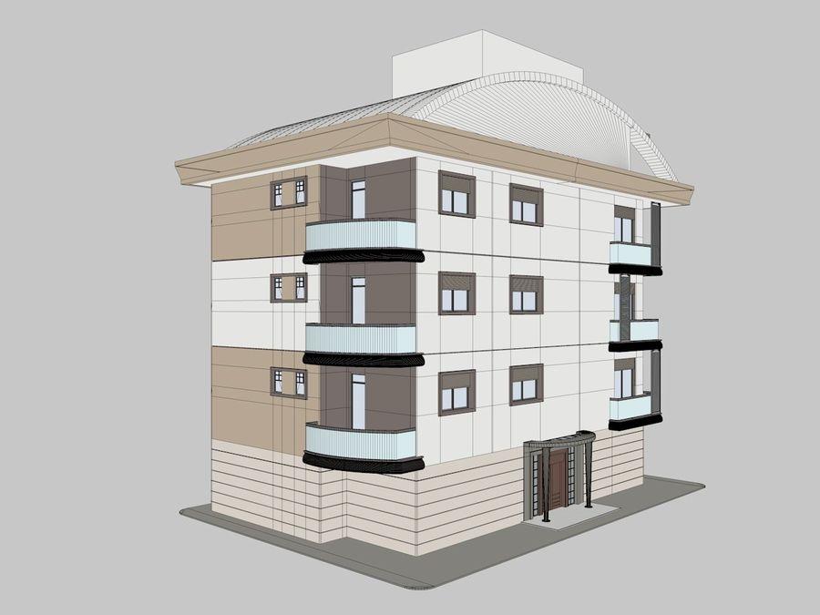 Bâtiments de la ville royalty-free 3d model - Preview no. 7