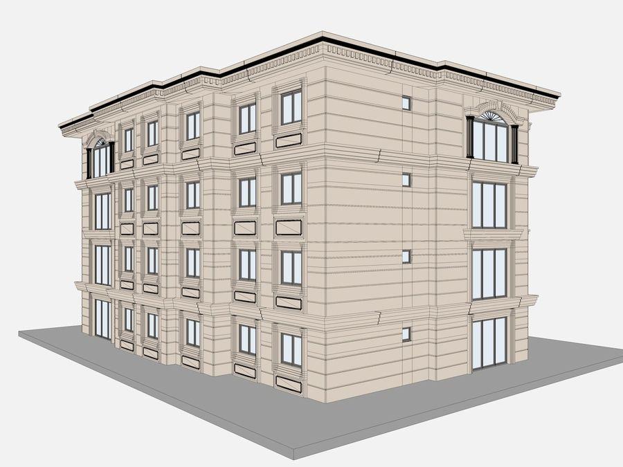 Bâtiments de la ville royalty-free 3d model - Preview no. 48