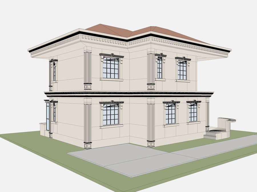 Bâtiments de la ville royalty-free 3d model - Preview no. 65
