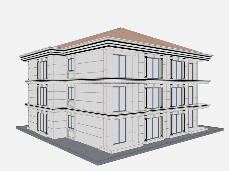 Bâtiments de la ville royalty-free 3d model - Preview no. 58
