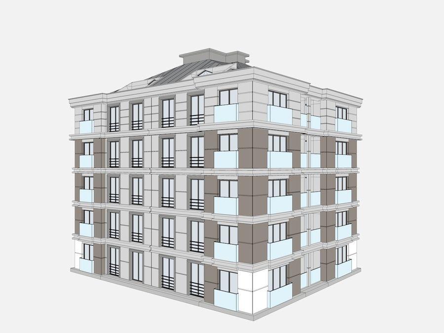 Bâtiments de la ville royalty-free 3d model - Preview no. 24