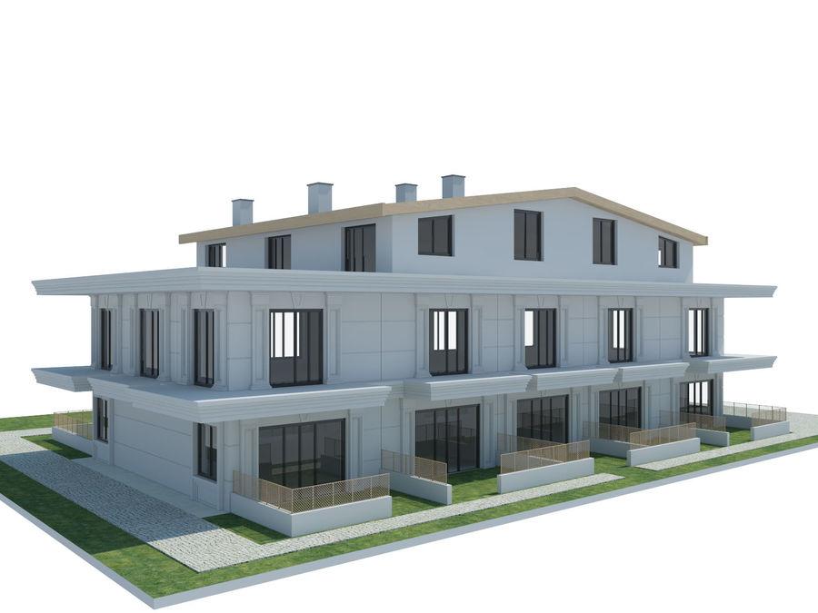 Bâtiments de la ville royalty-free 3d model - Preview no. 21