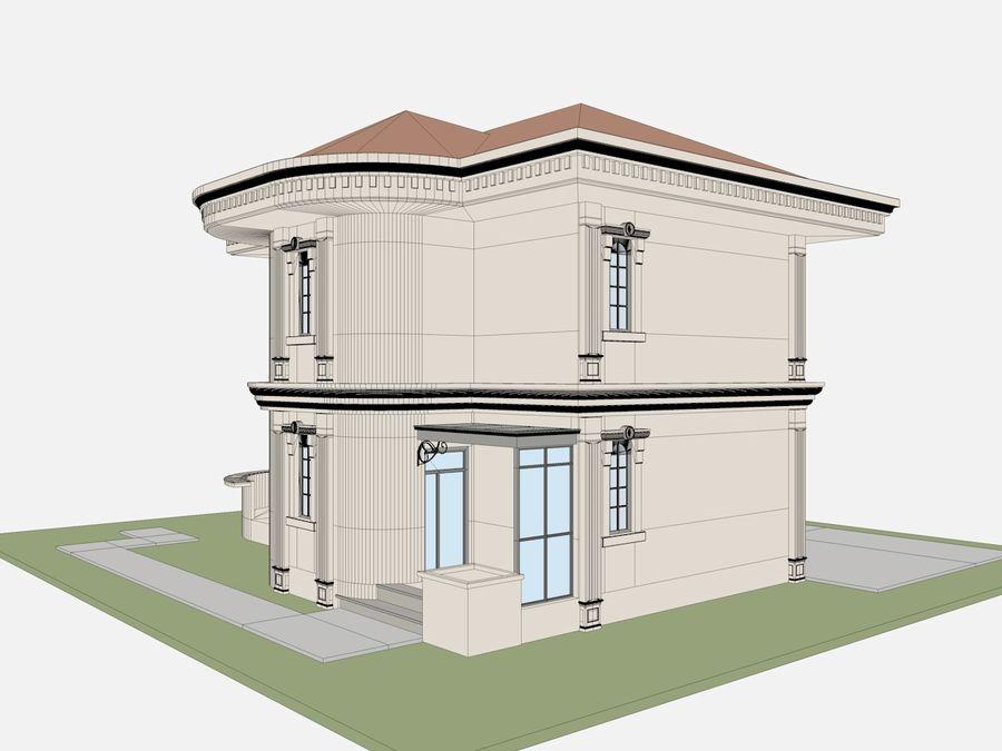 Bâtiments de la ville royalty-free 3d model - Preview no. 64