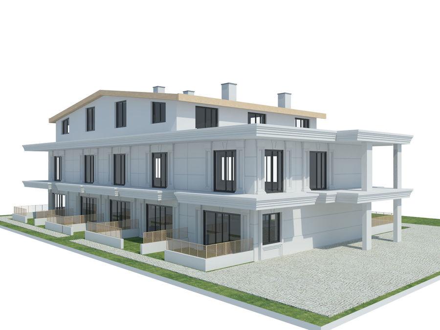 Bâtiments de la ville royalty-free 3d model - Preview no. 22