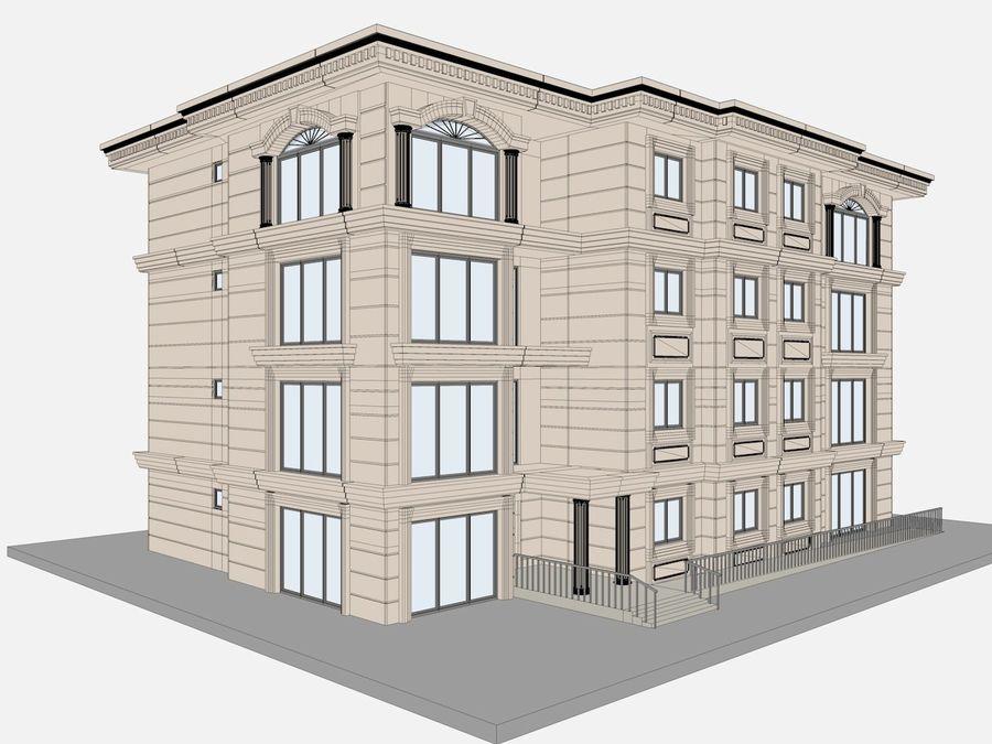 Bâtiments de la ville royalty-free 3d model - Preview no. 51