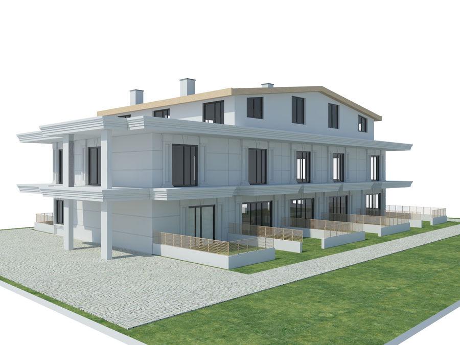 Bâtiments de la ville royalty-free 3d model - Preview no. 25