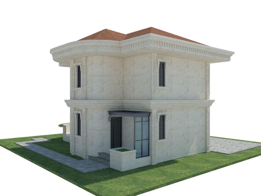Bâtiments de la ville royalty-free 3d model - Preview no. 53