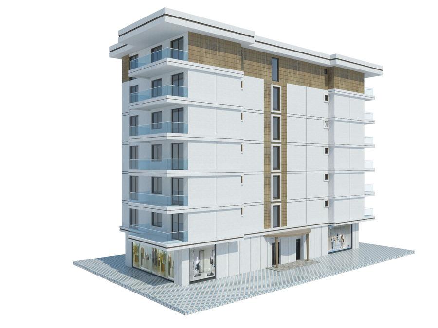 Bâtiments de la ville royalty-free 3d model - Preview no. 30