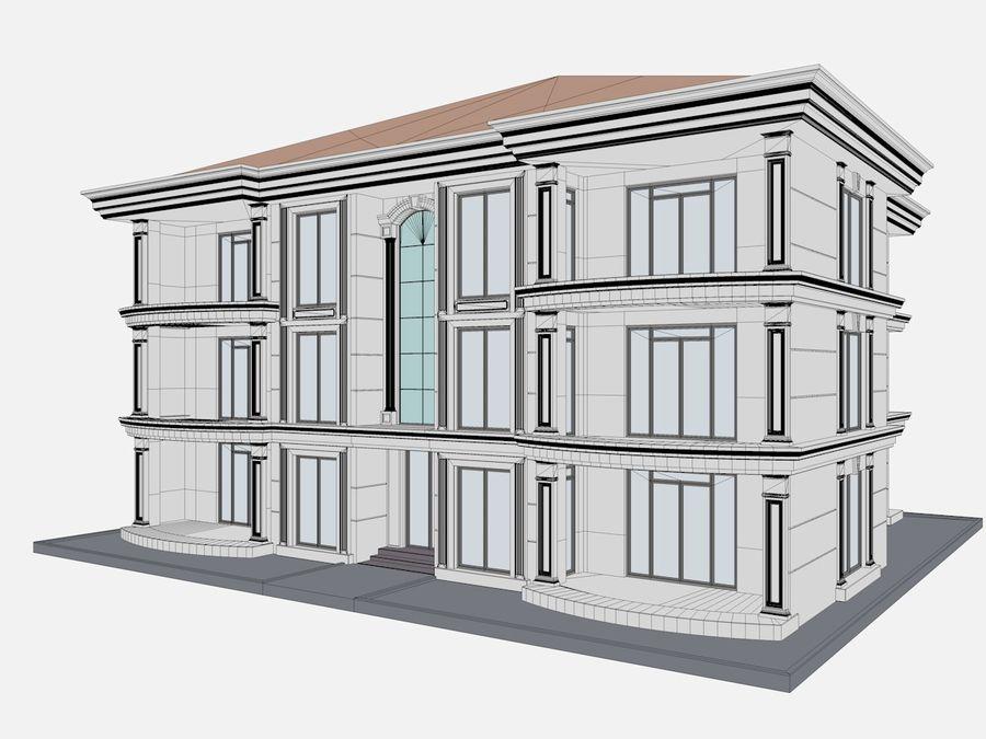 Bâtiments de la ville royalty-free 3d model - Preview no. 62