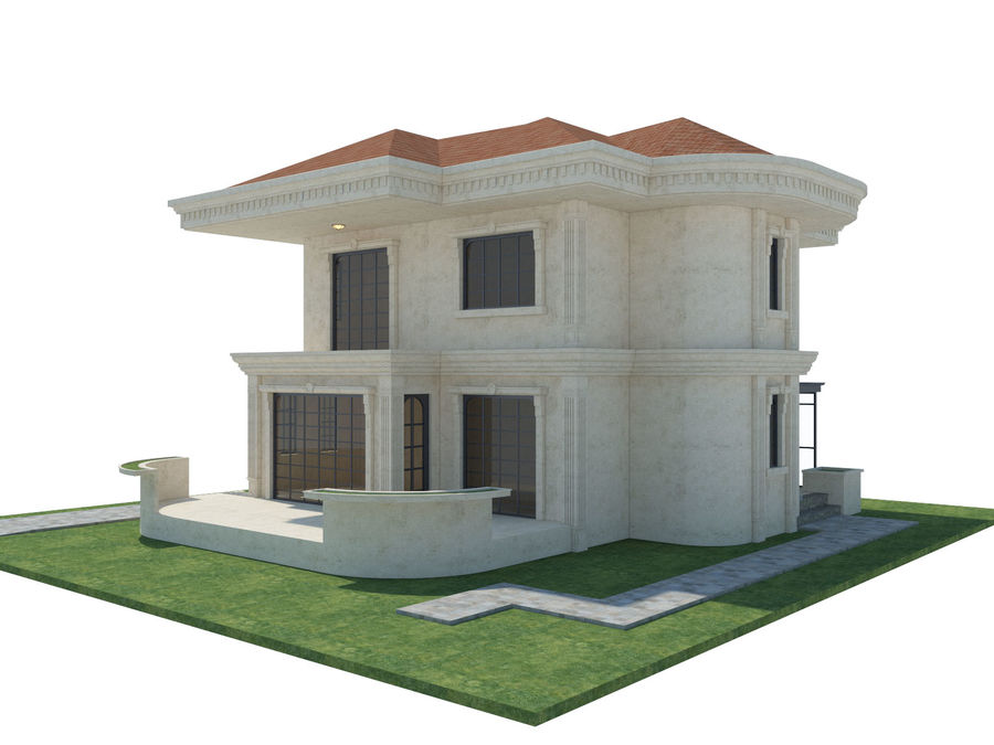 City Buildings royalty-free 3d model - Preview no. 63