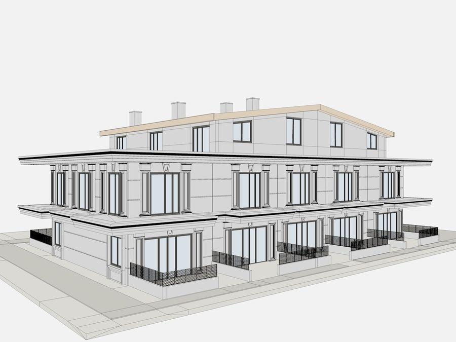 Bâtiments de la ville royalty-free 3d model - Preview no. 29
