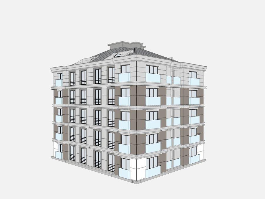 Bâtiments de la ville royalty-free 3d model - Preview no. 31