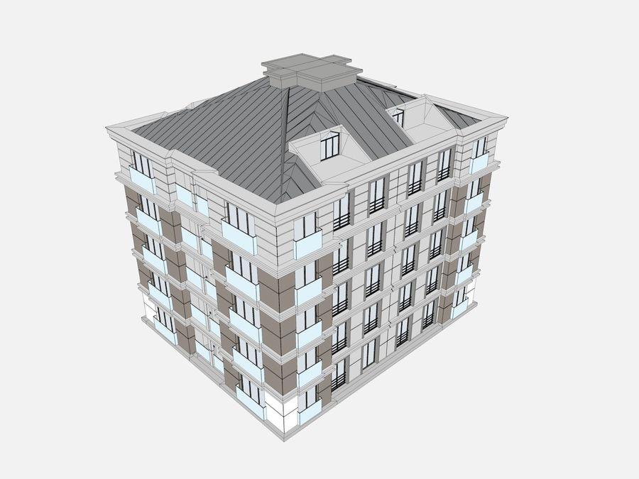 Bâtiments de la ville royalty-free 3d model - Preview no. 33