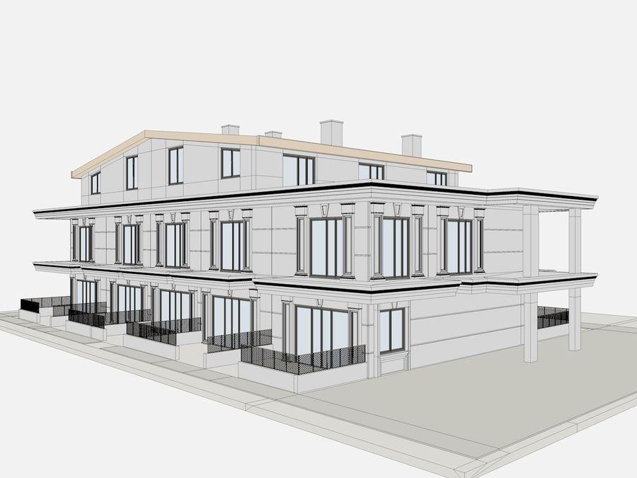 Bâtiments de la ville royalty-free 3d model - Preview no. 32