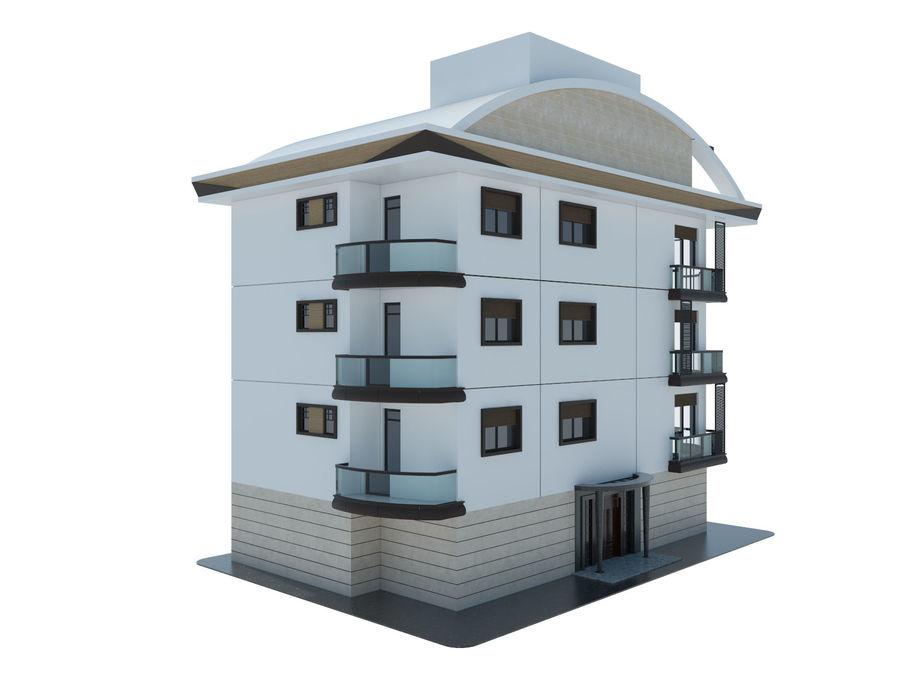 Bâtiments de la ville royalty-free 3d model - Preview no. 3