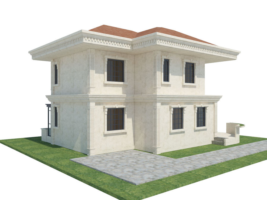 City Buildings royalty-free 3d model - Preview no. 57