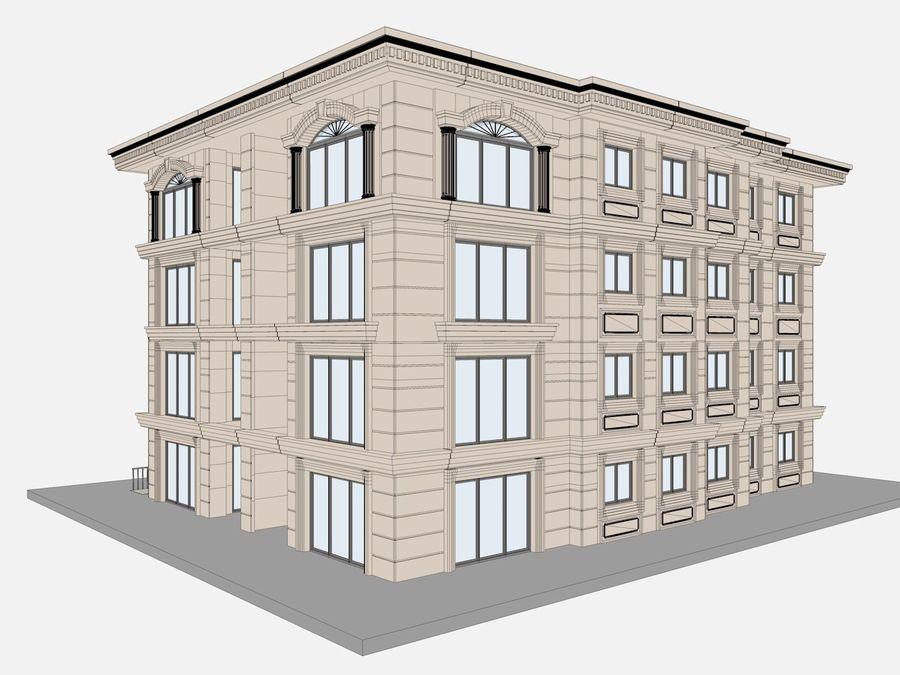 Bâtiments de la ville royalty-free 3d model - Preview no. 45