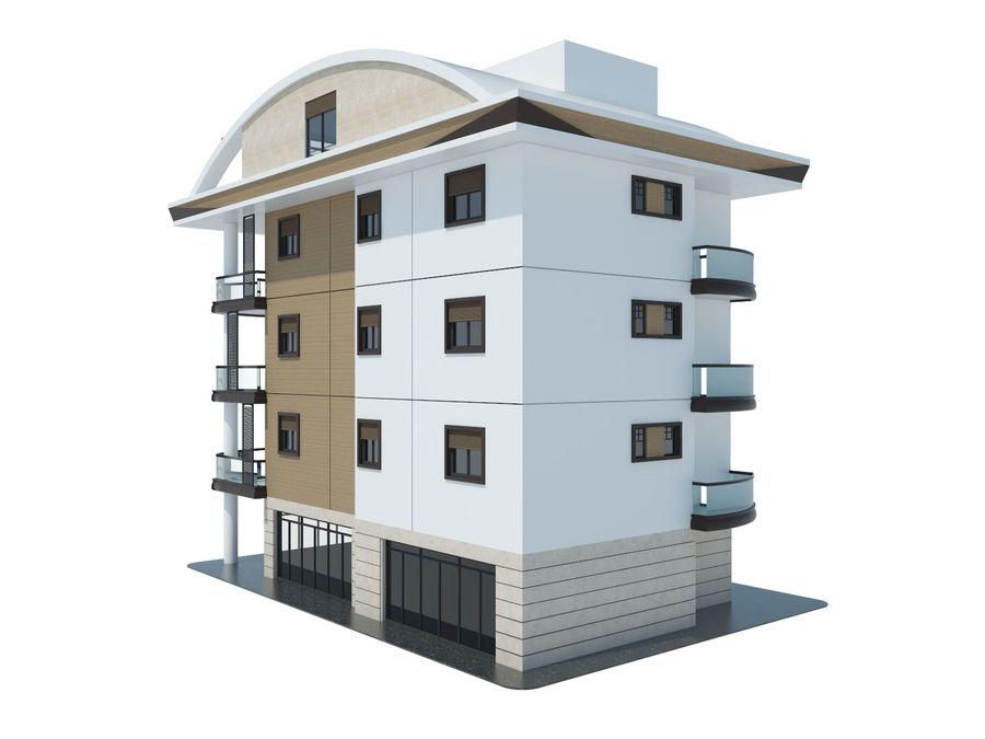 Bâtiments de la ville royalty-free 3d model - Preview no. 4