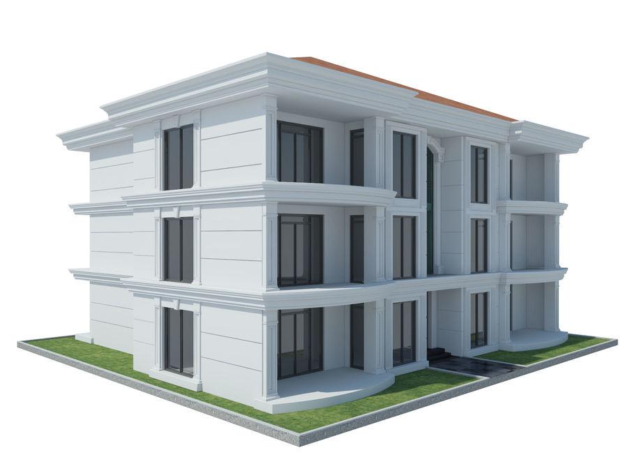 Bâtiments de la ville royalty-free 3d model - Preview no. 50