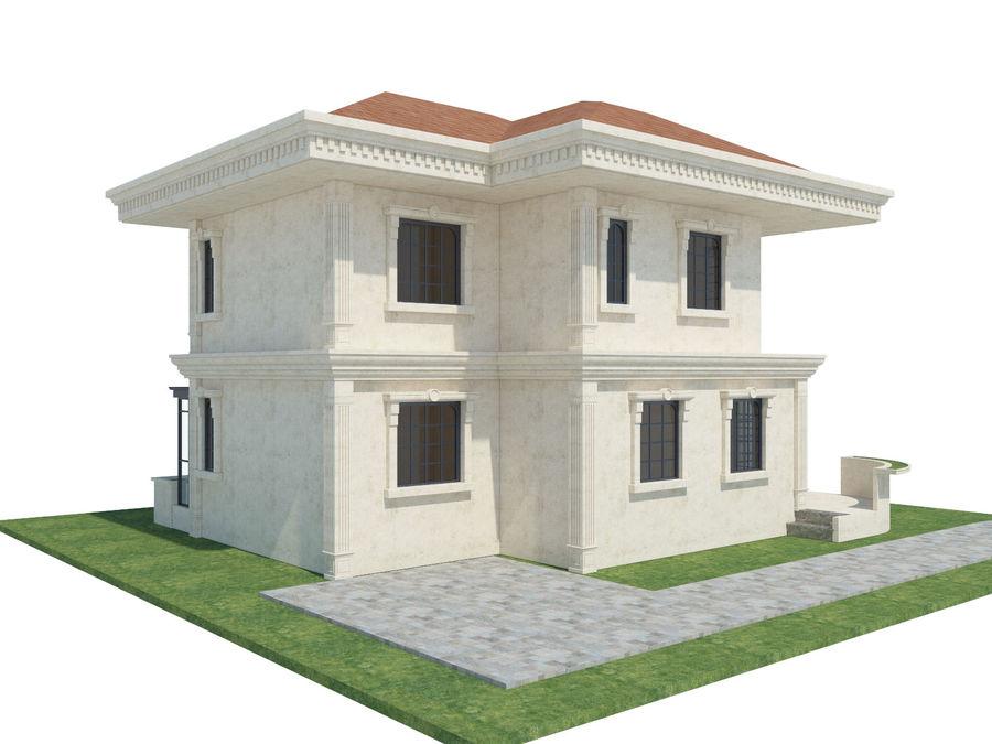 Bâtiments de la ville royalty-free 3d model - Preview no. 57
