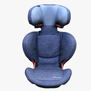 Asiento de seguridad para el automóvil 02 modelo 3d