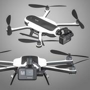 GoPro Karma drone 3D model 3d model