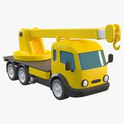 玩具卡通起重机 3d model