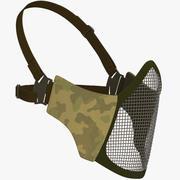 Schutzmaske V2 (Gitter) 3d model