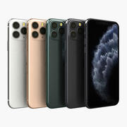 Apple iPhone 11 Pro All Color 3d model