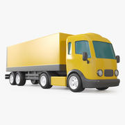 Toy Trailer Truck 3d model