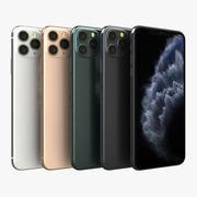 Apple iPhone 11 Pro Max todas as cores 3d model
