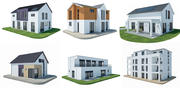 moderna tyska hus 3d model