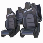 Siedzenie samochodowe 3d model