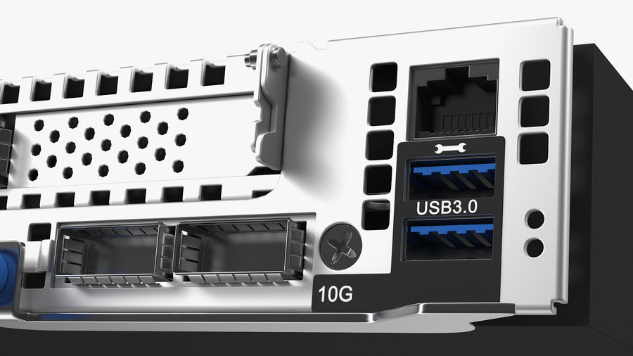Blade Server royalty-free 3d model - Preview no. 11