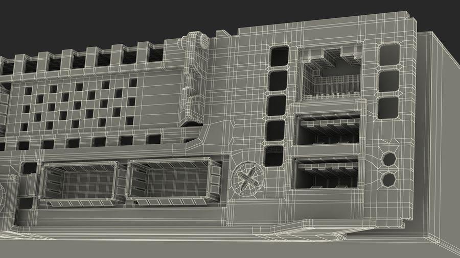 Blade Server royalty-free 3d model - Preview no. 21