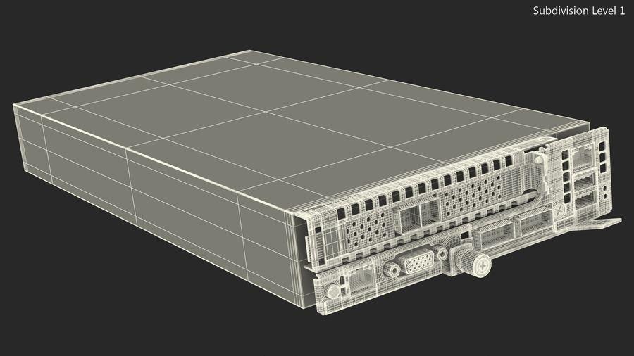 Blade Server royalty-free 3d model - Preview no. 15
