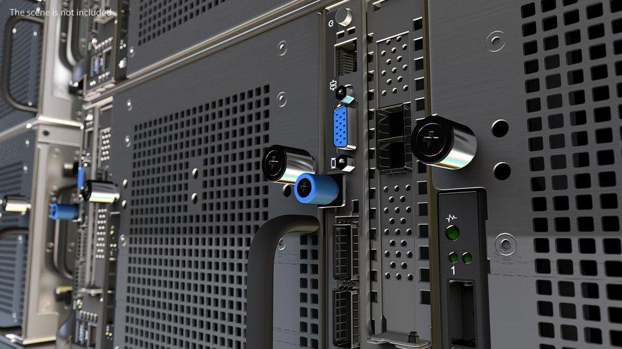 Blade Server royalty-free 3d model - Preview no. 5