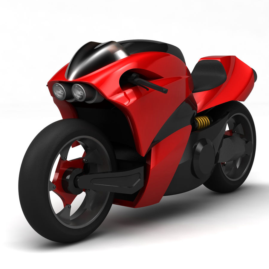 Concept Bike 2 royalty-free 3d model - Preview no. 1