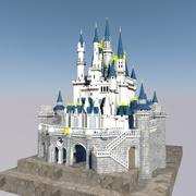 Cinderella castle 3d model