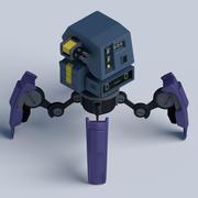 Игровой робот 3d model