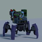 Игровой робот (1) 3d model