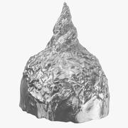 Tin Foil Hat 3d model