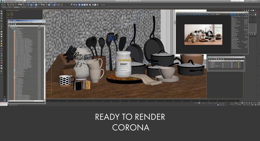 Mutfak Gereçleri 3 royalty-free 3d model - Preview no. 21
