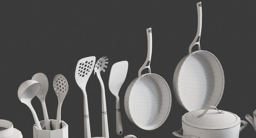 Mutfak Gereçleri 3 royalty-free 3d model - Preview no. 12