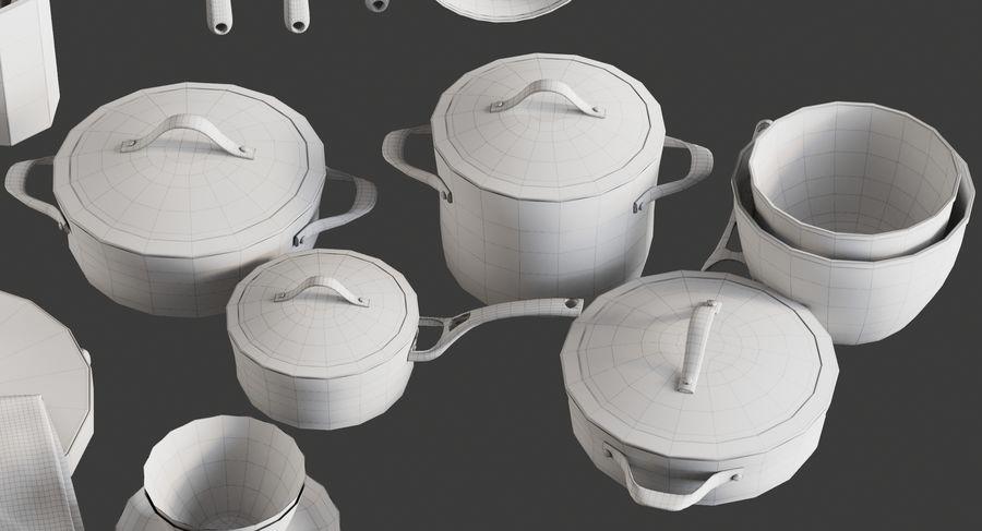 Mutfak Gereçleri 3 royalty-free 3d model - Preview no. 19