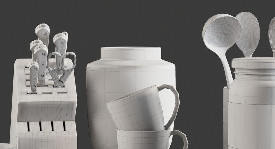 Mutfak Gereçleri 3 royalty-free 3d model - Preview no. 18